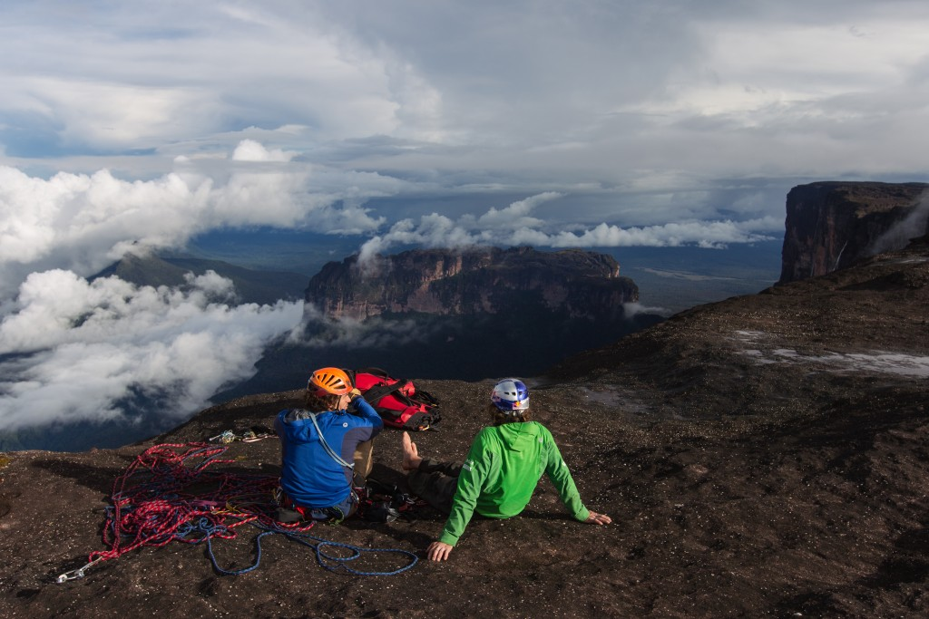 Roraima-Expedition Stefan Glowacz